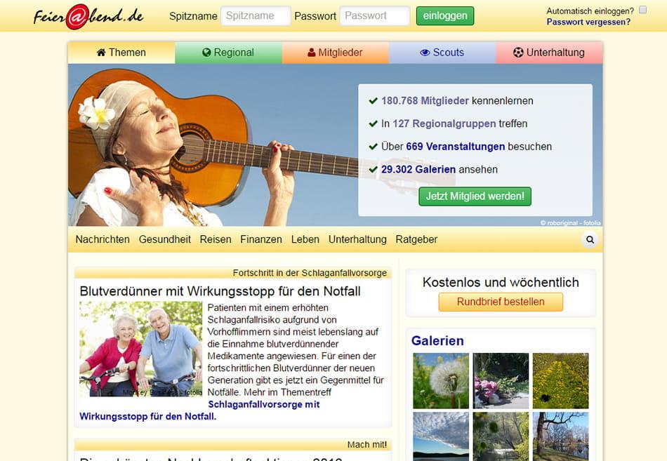 Dating-websites für 40 und höher